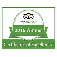 Tripadvisor Certificate of Excellence 2016, Renoufs